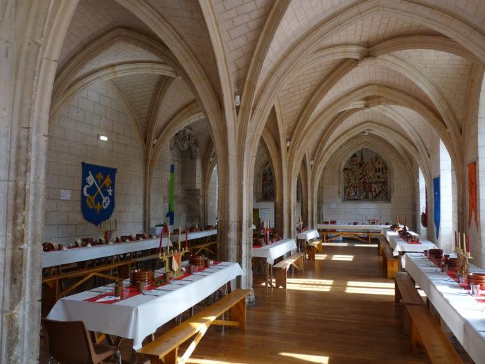 Ferrières en Gâtinais - Salle de l'abbaye