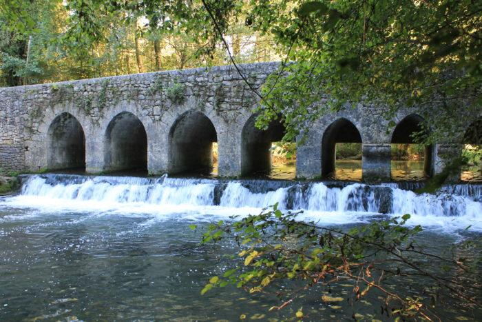 Parc et balades - Pont du Gril de Corbelin