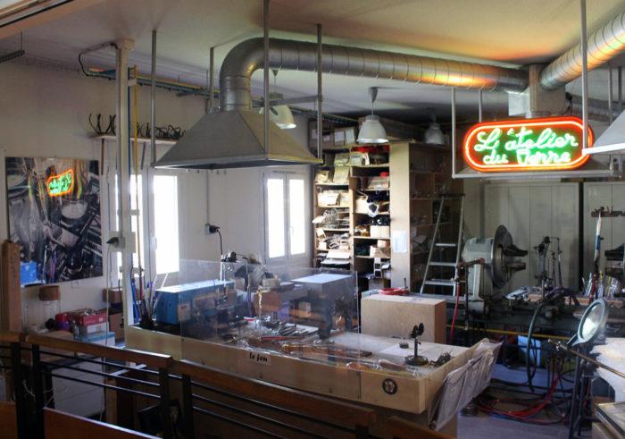 Musée du verre - ateliers de verrerie