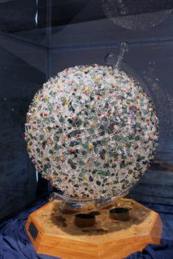 Musée du verre - oeuvre en verre