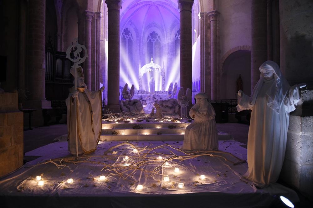 Nocturnes de Ferrières - Les statues