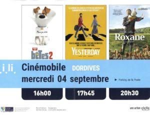 Affiche du cinémobile