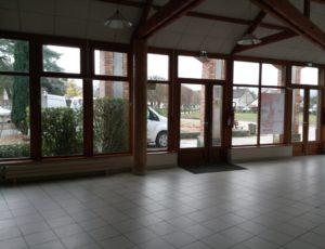 Entrée et hall d'accueil