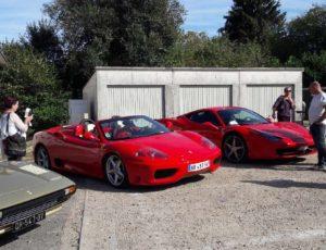 Rassemblement Ferrari
