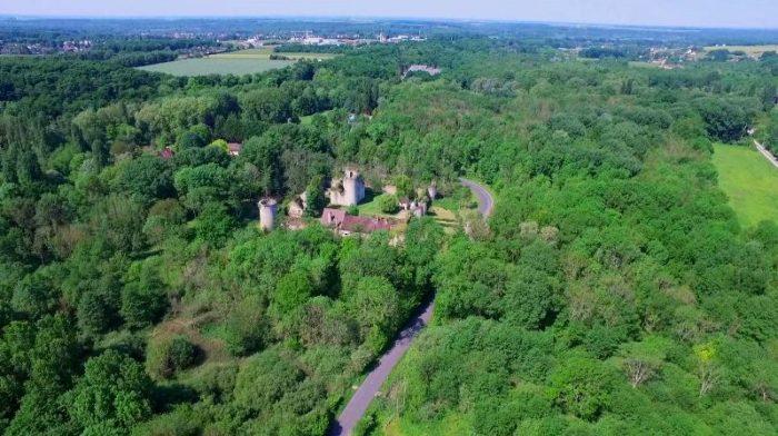 chateau Mez le maréchal drone – Copie