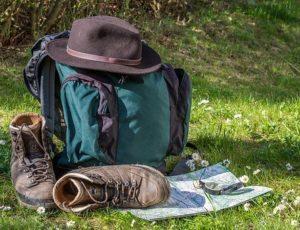 randonée sac et chaussures
